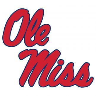 Ole Miss Rebels College Logo Game Room Accessories