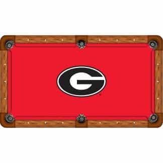 Georgia Bulldogs Billiard Table Cloth | moneymachines.com