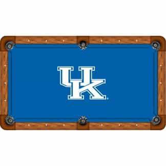 Kentucky Wildcats Billiard Table Cloth | moneymachines.com