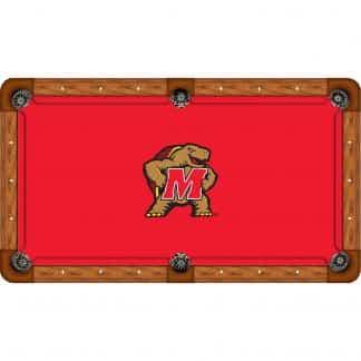Maryland Terrapins Billiard Table Cloth | moneymachines.com