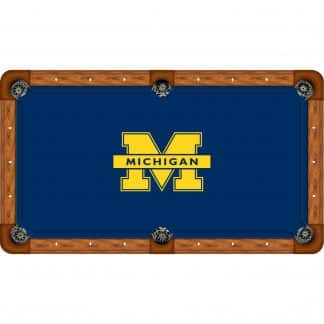 Michigan Wolverines Billiard Table Cloth | moneymachines.com