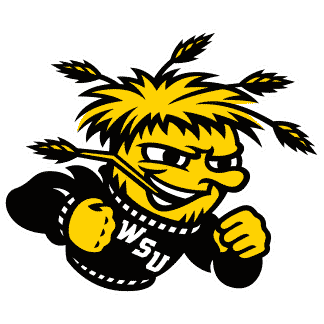 Wichita State Shockers College Logo Game Room Accessories