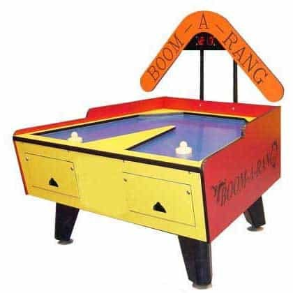 Boom-A-Rang Home Air Hockey Table With Overhead Electronic Scoring | moneymachines.com