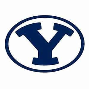 Brigham Young Cougars College Logo Game Room Accessories