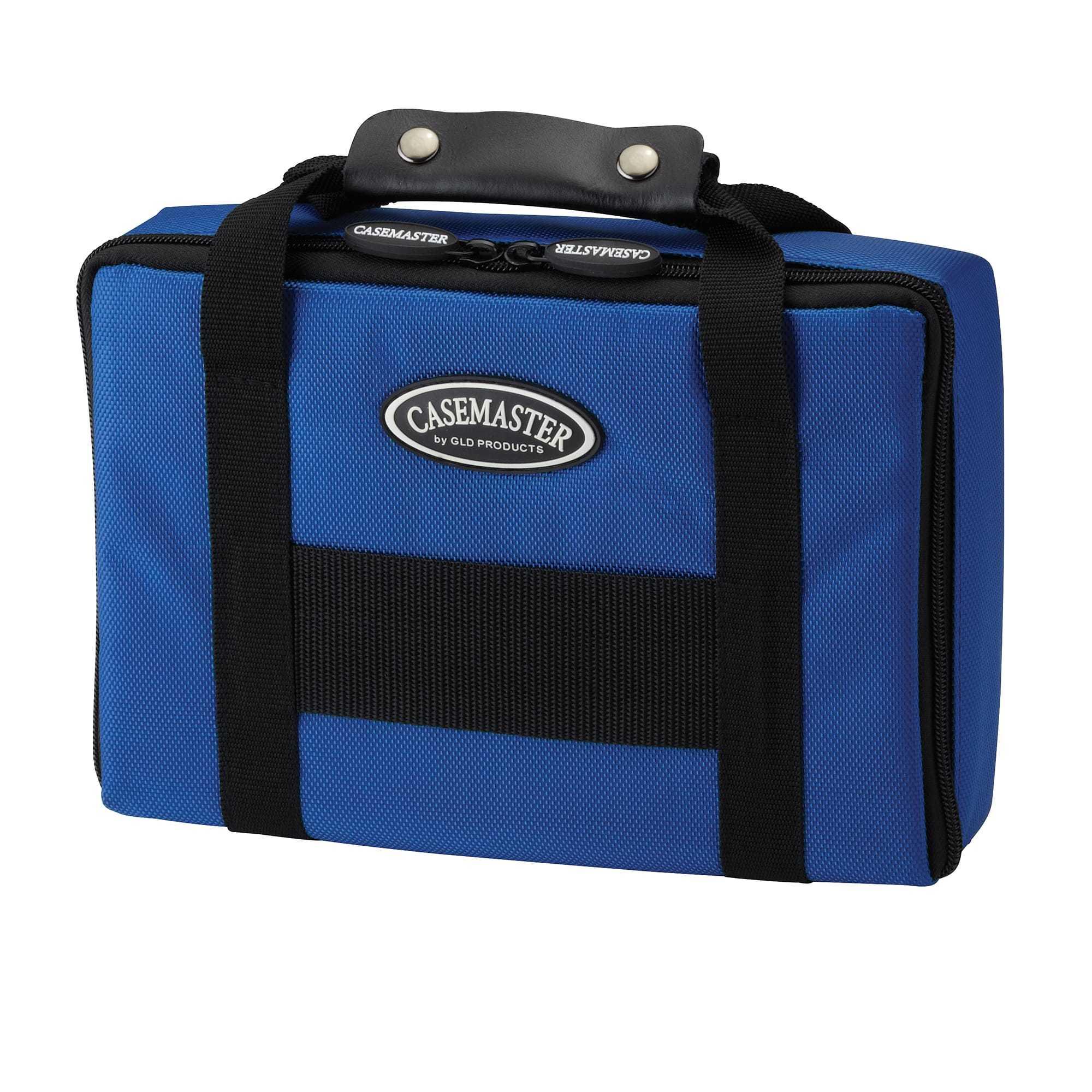 Casemaster Classic Blue Nylon Dart Case 2 Dart Sets | 36-0900-03 | moneymachines.com