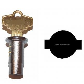 Delulxe A & A PN95 & PM Elite Vendor Standard Lock and Key | moneymachines.com