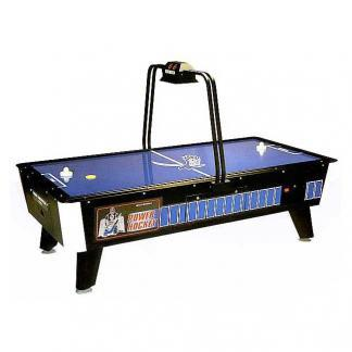 Face Off Home Air Hockey Table With Overhead Electronic Scoring | moneymachines.com