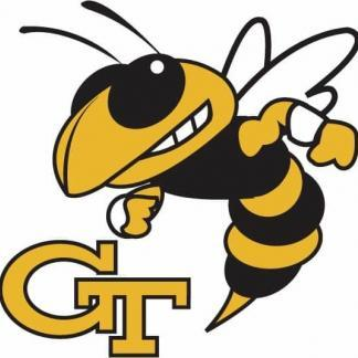 Georgia Tech Yellow Jackets College Logo Game Room Accessories