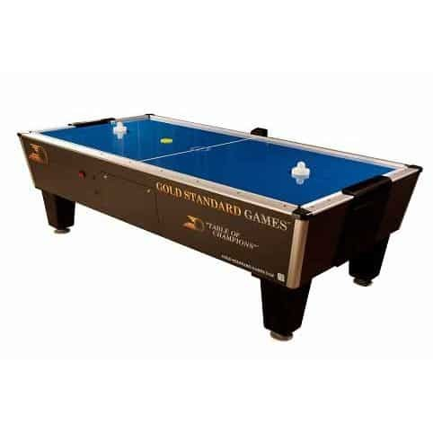 Gold Standard Games Tournament Pro Home Air Hockey Table With Side Scoring | moneymachines.com