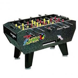Great American Commercial Coin Op Action Soccer Foosball Table | moneymachines.com