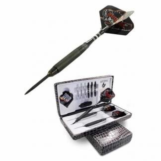 Hammer Head Devastators Coarse Knurl Black Steal Dart Set | moneymachines.com