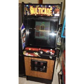 Multicade 60 Game Upright Video Arcade Game Machine | moneymachines.com