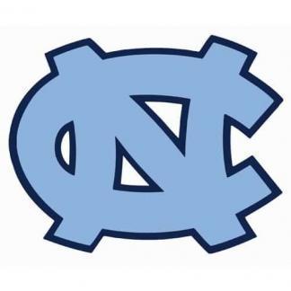 North Carolina Tar Heels College Logo Game Room Accessories