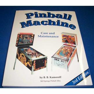 Pinball Care and Maintenance Manual | moneymachines.com