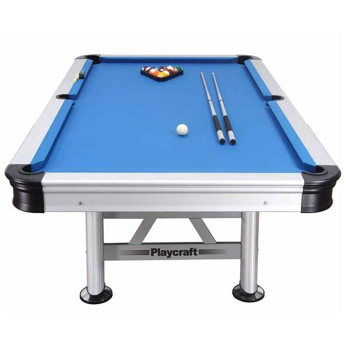 Playcraft Extera 8ft Outdoor Pool Table End | moneymachines.com