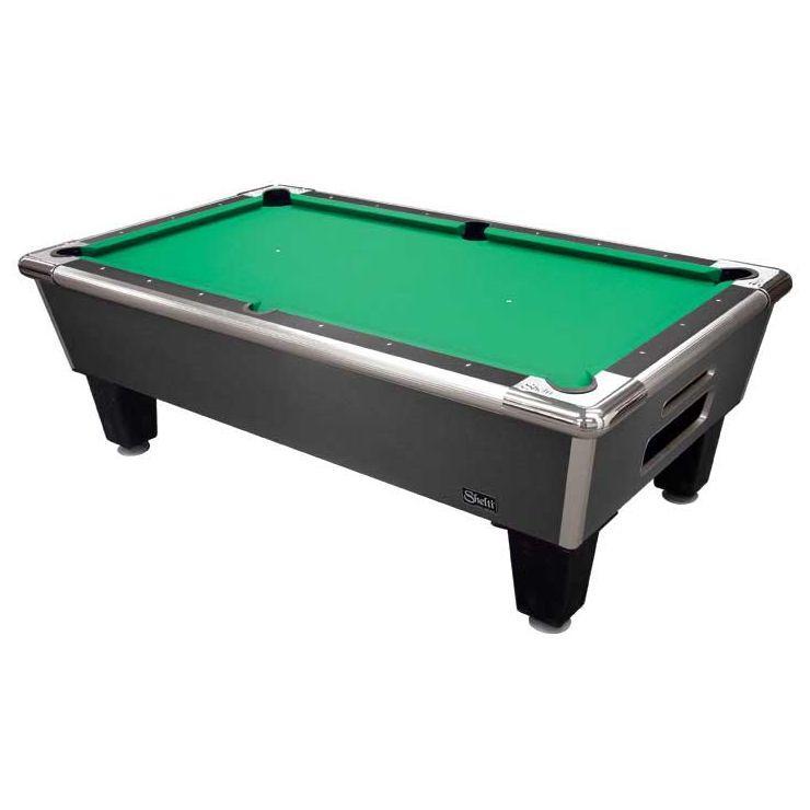 Shelti Bayside Charcoal 7' Home Pool Tables | moneymachines.com
