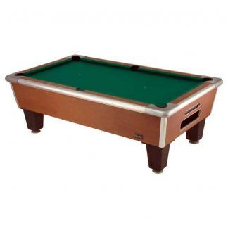 Shelti Bayside Cherry 8' Home Pool Tables | moneymachines.com