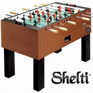 Shelti Pro Foos III Coin Operated Foosball Table | moneymachines.com
