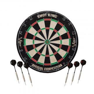 Viper Shot King Bristle Dartboard - 42-6002 | moneymachines.com
