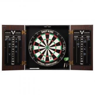 Viper Stadium Steel Tip Cabinet & Dartboard Set | moneymachines.com