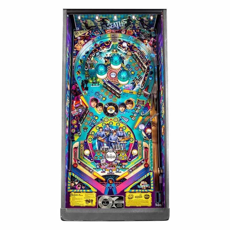 Stern Beatles Platinum Edition Pinball Game Machine   moneymachines.com