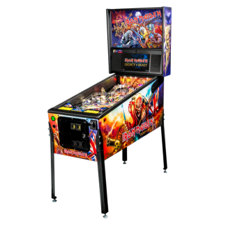 Stern Iron Maiden Pro Pinball Game Machine | moneymachines.com
