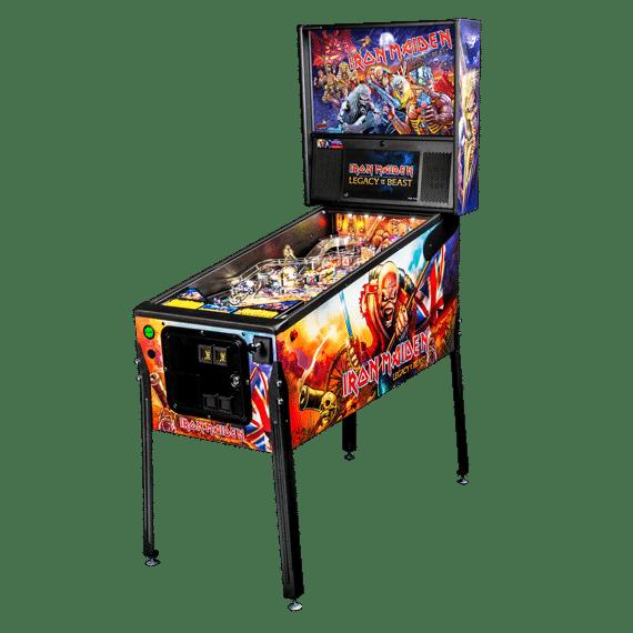 Stern Iron Maiden Pro Pinball Game Machine   moneymachines.com