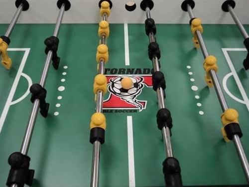 Tornado Tournament 3000 Foosball Table Playfield | moneymachines.com