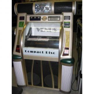 Used Rowe/AMI CD 100F Jukebox Loaded With CDs | moneymachines.com