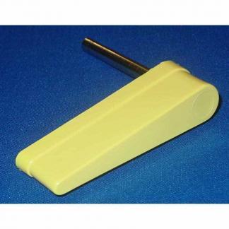 Yellow Flipper Cap & Shaft For Pinball Machines | moneymachines.com