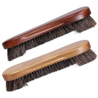 10 1/2 Inch Pool Table Bed Cloth Cleaning Brush - Oak and Mahogany Finish | moneymachines.com