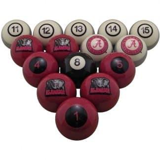 NCAA College Logo Billiard Balls