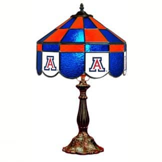Arizona Wildcats Stained Glass Table Lamp | moneymachines.com
