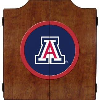 Arizona Wildcats College Logo Dart Cabinet | moneymachines.com