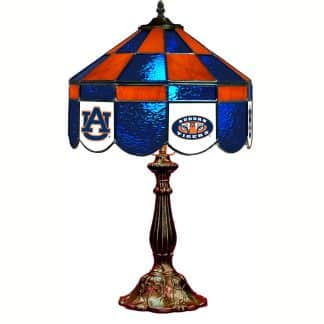 Auburn Tigers Stained Glass Table Lamp | moneymachines.com