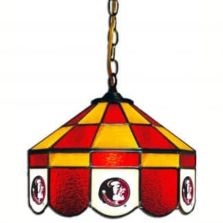 Florida State Seminoles Stained Glass Swag Hanging Lamp | moneymachines.com