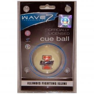 Illinois Fighting Illini Billiard Cue Ball | moneymachines.com