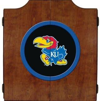 Kansas Jayhawks College Logo Dart Cabinet | moneymachines.com