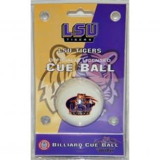 LSU Tigers Billiard Cue Ball   moneymachines.com