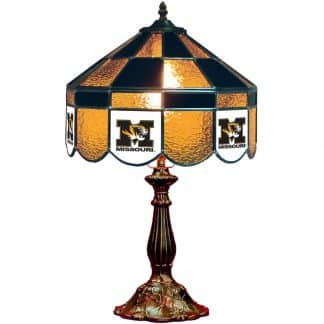 Mizzou Tigers Stained Glass Table Lamp   moneymachines.com