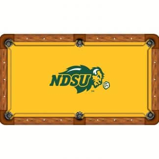 North Dakota State Bisons Billiard Table Cloth | moneymachines.com