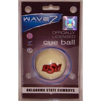 Oklahoma State Cowboys Billiard Cue Ball | moneymachines.com