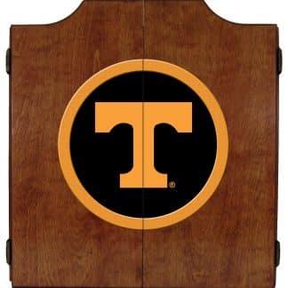 Tennessee Volunteers College Logo Dart Cabinet | moneymachines.com