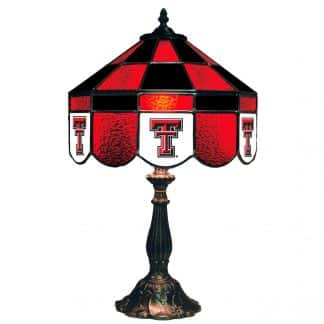 Texas Tech Red Raiders Stained Glass Table Lamp | moneymachines.com