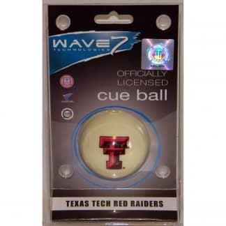 Texas Tech Red Raiders Billiard Cue Ball | moneymachines.com