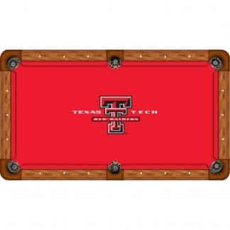 Texas Tech Red Raiders Billiard Table Cloth | moneymachines.com