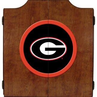 Georgia Bulldogs College Logo Dart Cabinet | moneymachines.com