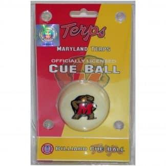 Maryland Terrapins Billiard Cue Ball | moneymachines.com