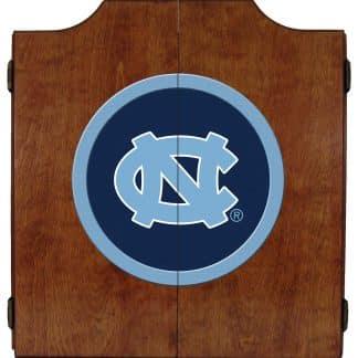 North Carolina Tar Heels College Logo Dart Cabinet | moneymachines.com
