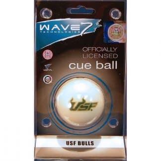 South Florida Bulls Billiard Cue Ball   moneymachines.com